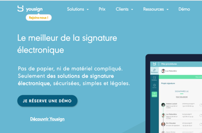 Larger yousign
