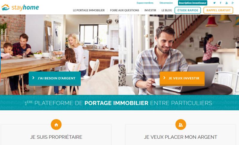 le blog stayhome portage immobilier. Black Bedroom Furniture Sets. Home Design Ideas